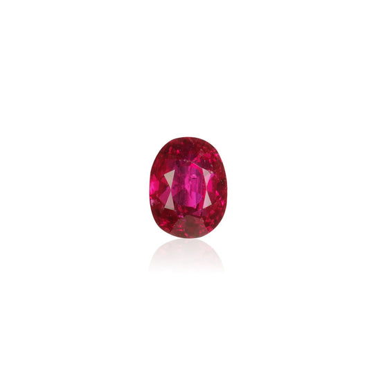 0.66ct Mogok Pigeon Blood Ruby Unheated