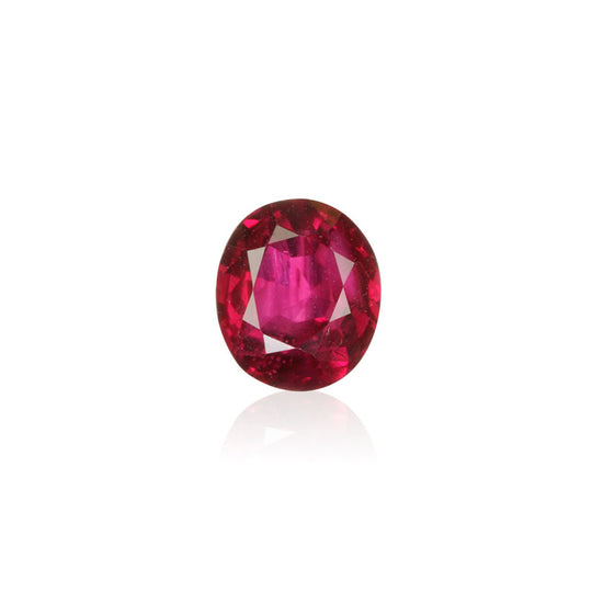 1.51ct Unheated Burmese Ruby - maysgems