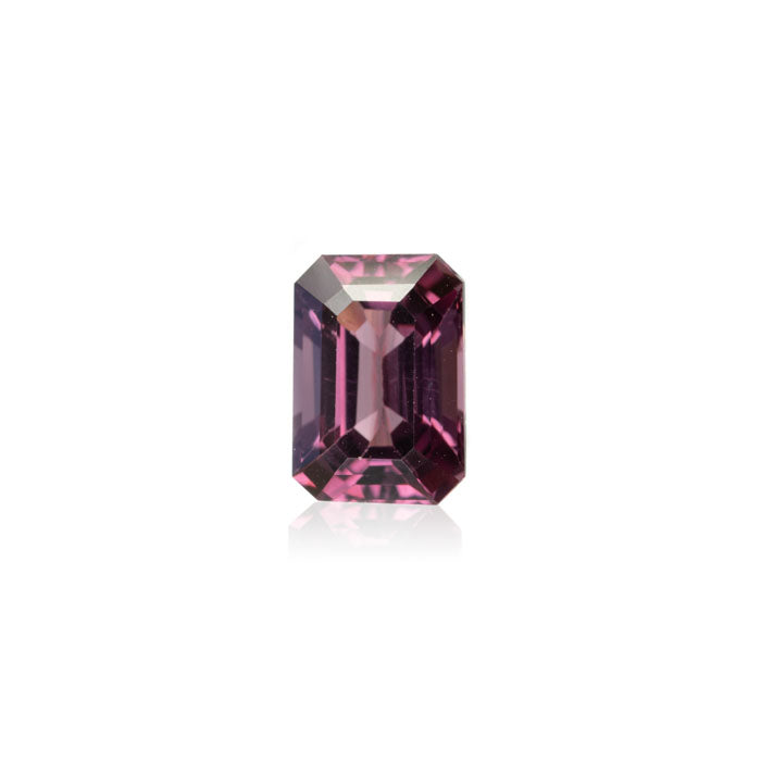 2.25ct Burmese Pink Spinel in Emerald Cut