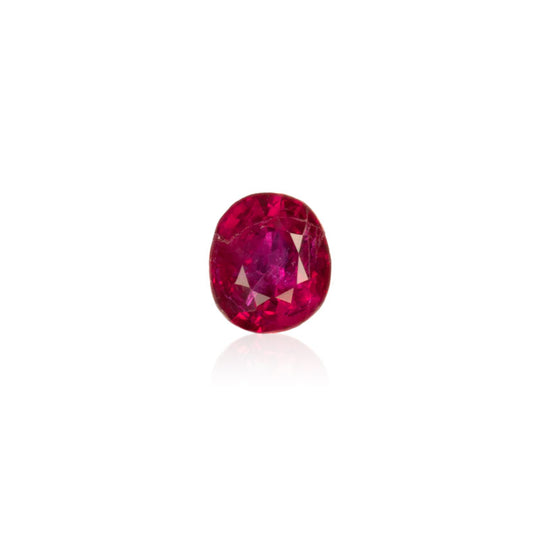 0.62ct Unheated Vivid Red Burmese Ruby - MAYS
