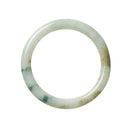 62.8mm Burmese Jade Bangle - maysgems