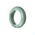 42mm Natural Burmese Jade Bangle - maysgems