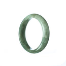 47mm Natural Burmese Jade Bangle - MAYS