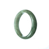 47mm Natural Burmese Jade Bangle