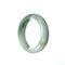 46mm Natural Burmese Jade Bangle - MAYS