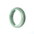 45mm Natural Burmese Jade Bangle - maysgems