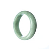 45mm Natural Burmese Jade Bangle