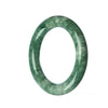 52mm Natural Burmese Jade Bangle
