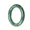 52mm Natural Burmese Jade Bangle - MAYS