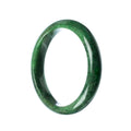 63mm Natural Burmese Jade Bangle - MAYS