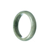 53mm Natural Burmese Jade Bangle