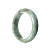 59mm Natural Burmese Jade Bangle