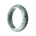 58mm Natural Burmese Jade Bangle - MAYS