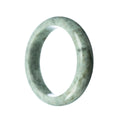 62mm Natural Burmese Jade Bangle - MAYS