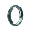58mm Natural Burmese Jade Bangle