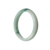 56mm Natural Burmese Jade Bangle
