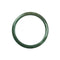 57mm Natural Burmese Jade Bangle - MAYS