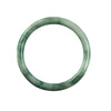 61mm Natural Burmese Jade Bangle