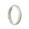 54mm Natural Burmese Jade Bangle