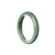43mm Natural Burmese Jade Bangle