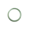 45mm Natural Burmese Jade Bangle - MAYS