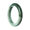 77mm Natural Burmese Jade Bangle