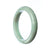 76mm Natural Burmese Jade Bangle