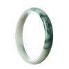 74mm Natural Burmese Jade Bangle
