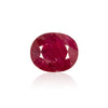 5.11ct Deep Red Africa Ruby - MAYS