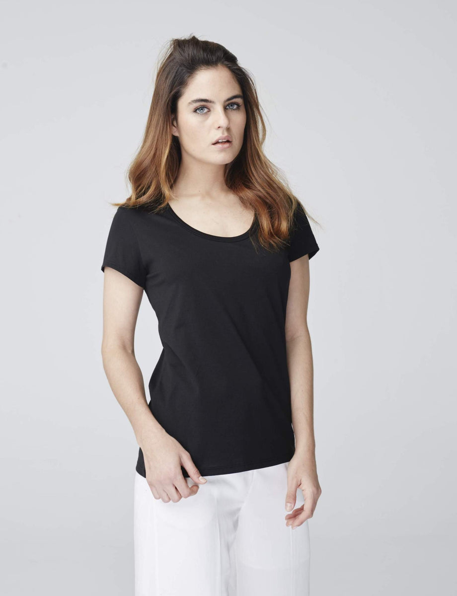 The Short Sleeve Scoop T