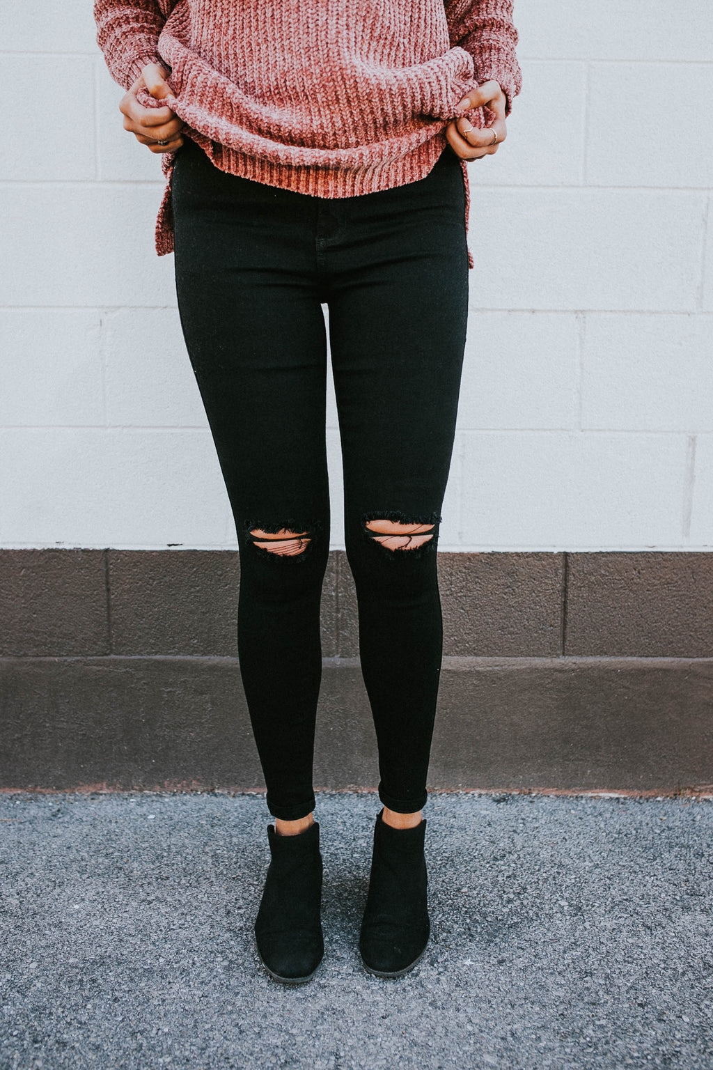 No Brainer Black Denim