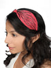 BEACH BOUND HEADBAND-Coral - Hair Drama Company