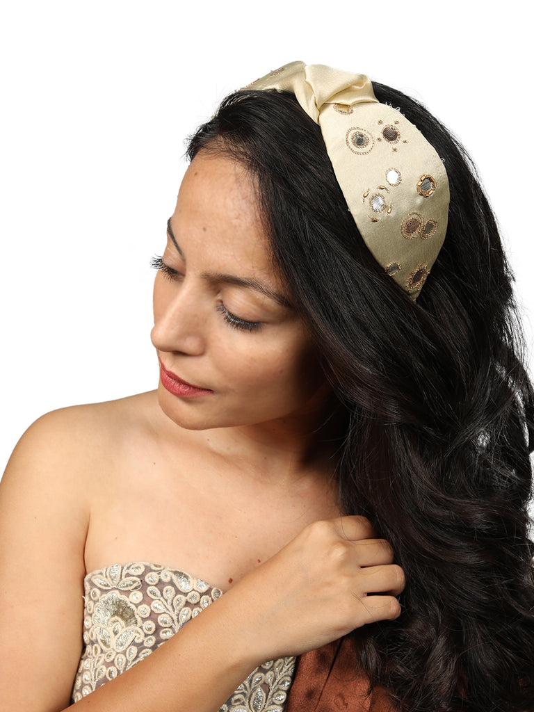 GOTA PATTI HEADBAND - Hair Drama Company