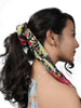 SUMMER SCRUNCHIES-OPT-VI-PINK MULTICOLOR - Hair Drama Company