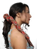 SUMMER SCRUNCHIES-MULTI Red - Hair Drama Company