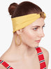 Escher's Knot Turban Band-Mustard - Hair Drama Company