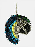 African Parrot Hair Ornament-Multi - Hair Drama Company
