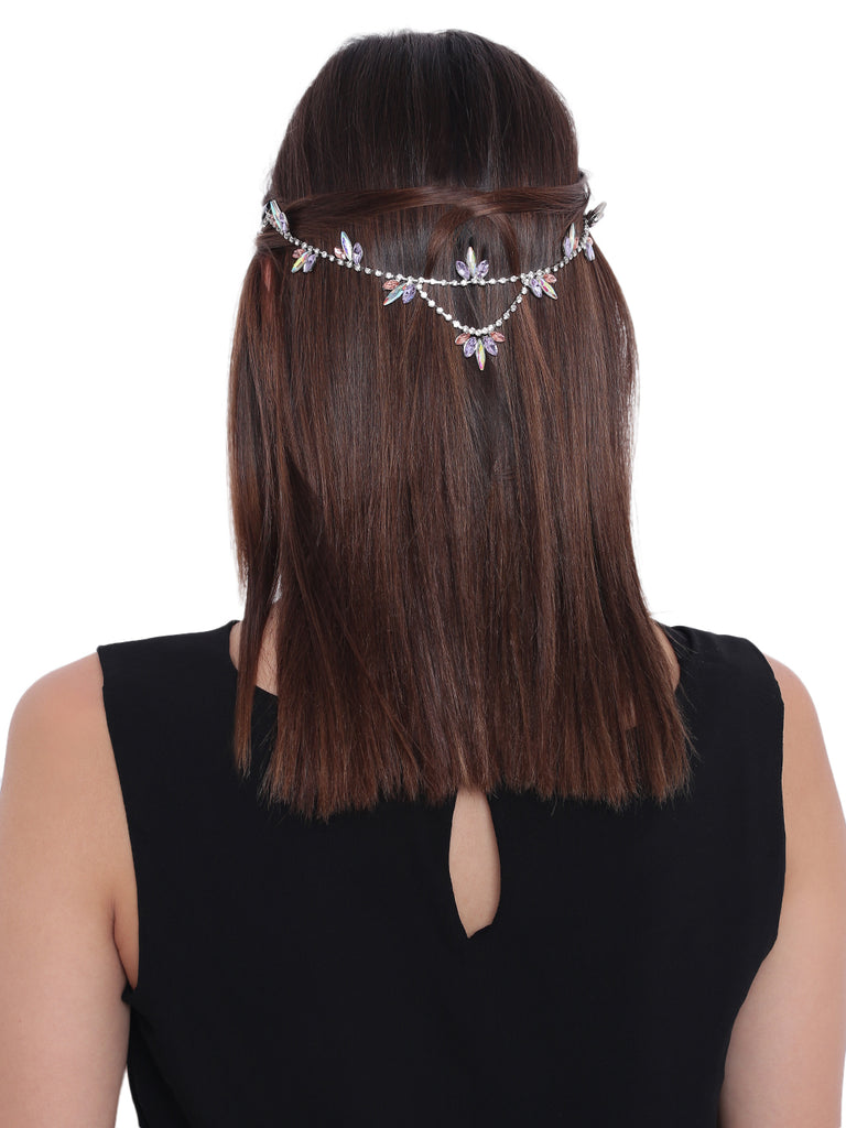 Crystal Navette Cluster Halo - Hair Drama Company
