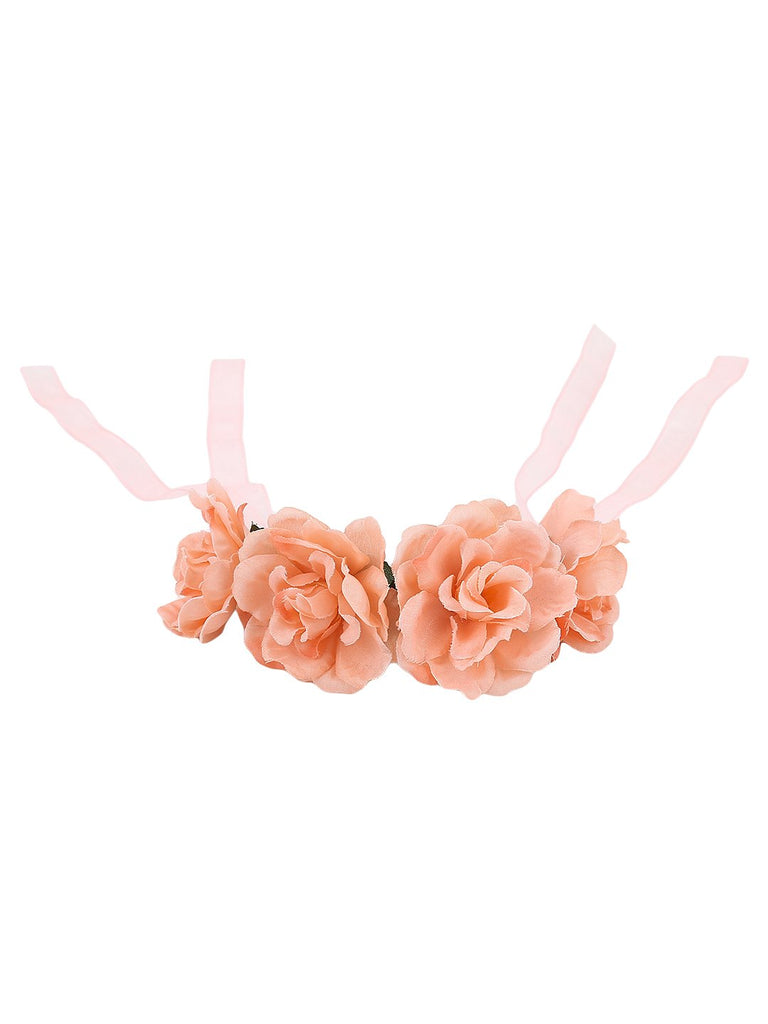 Floral Bun Holder - Hair Drama Company