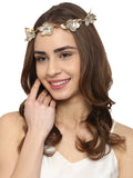 Metallic Flower Crown - Hair Drama Company