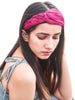 Braid Hairband - Maroon - Hair Drama Company