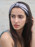Clove Hitch Hairband - Grey - Hair Drama Company