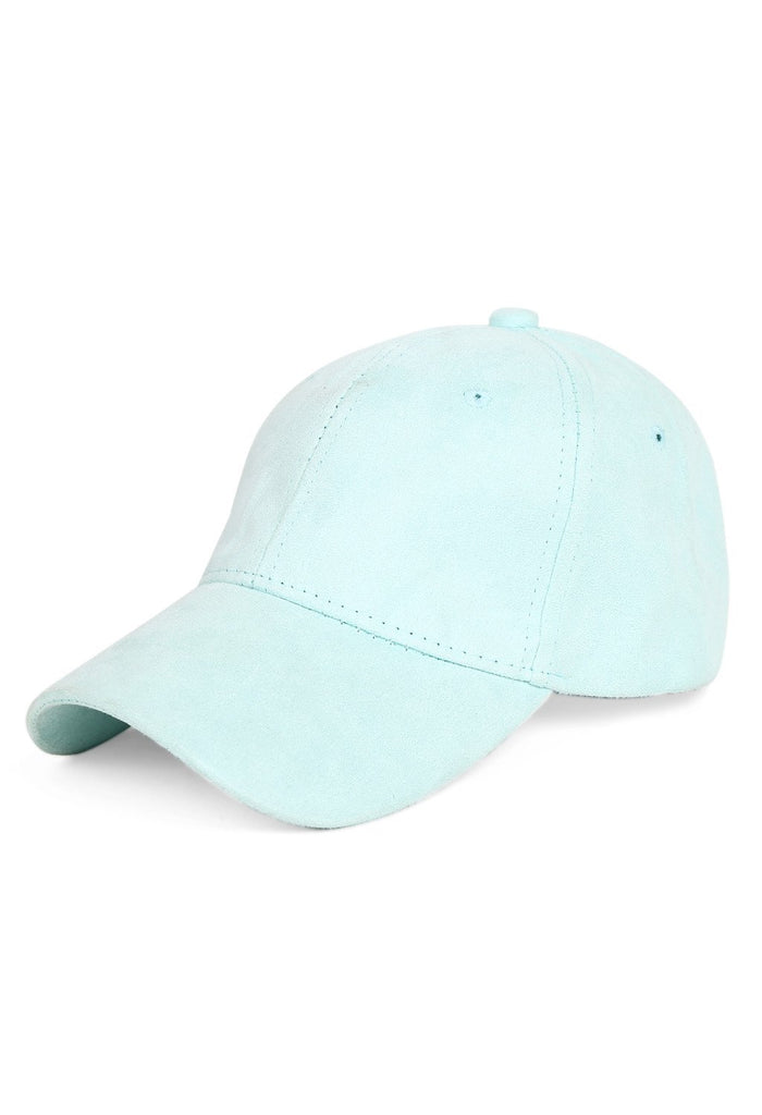 Mint Green Suede Cap - Hair Drama Company