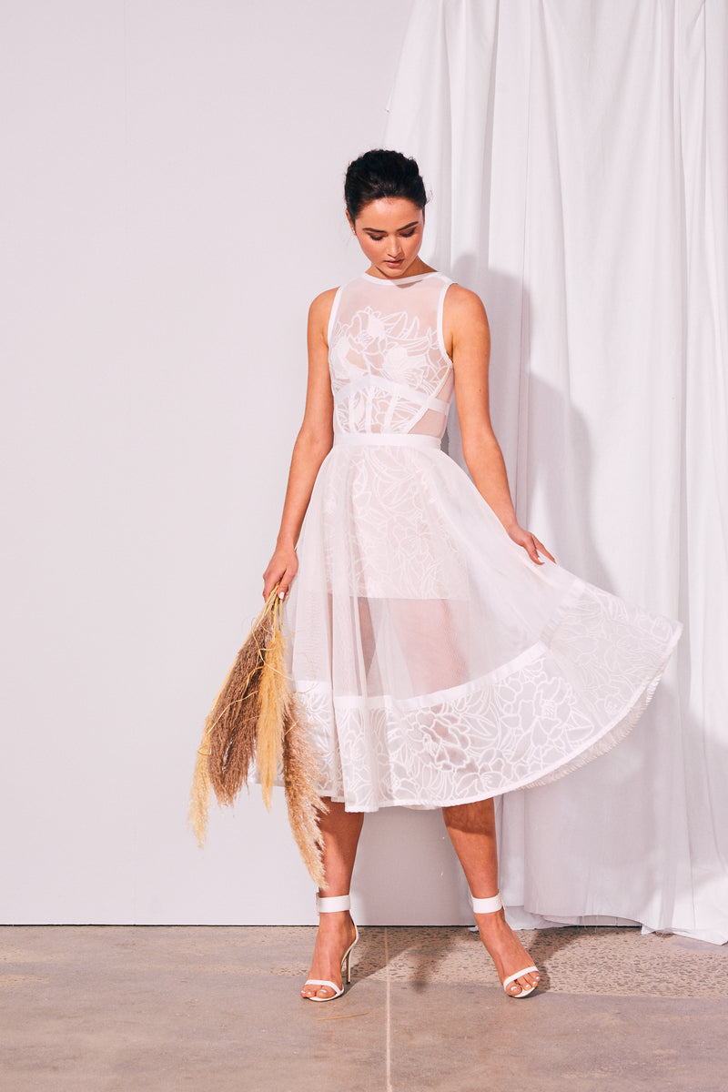 Bloom Mesh Dress