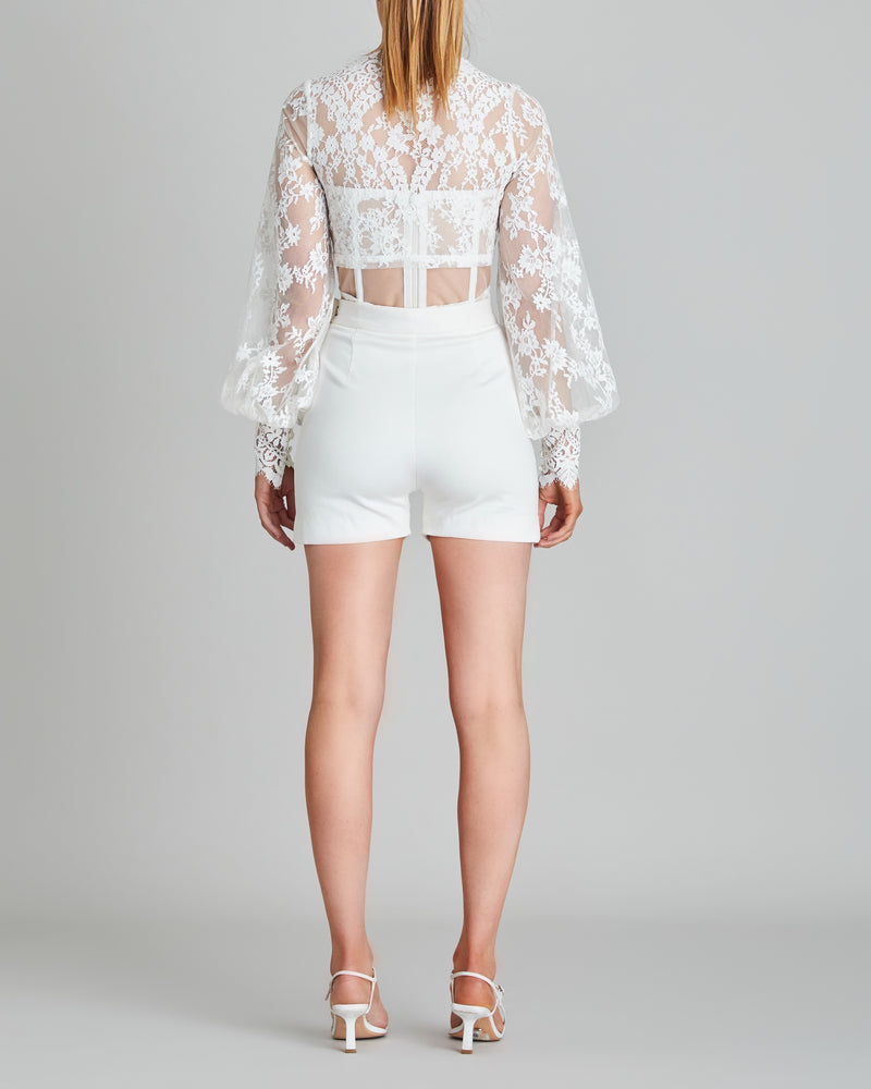 Iris Lace Wrap Top & Bodice