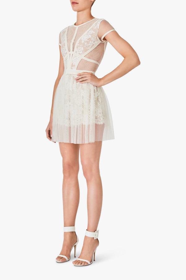 Sheer Luck Short- White