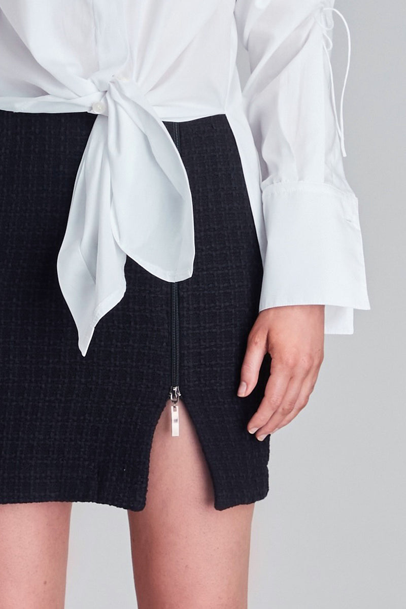 Interweave Mini Skirt