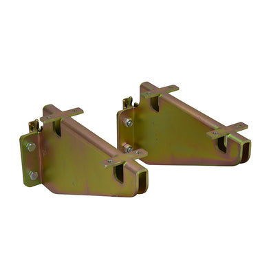 Fixed Shelf Track Brackets - 2 pack