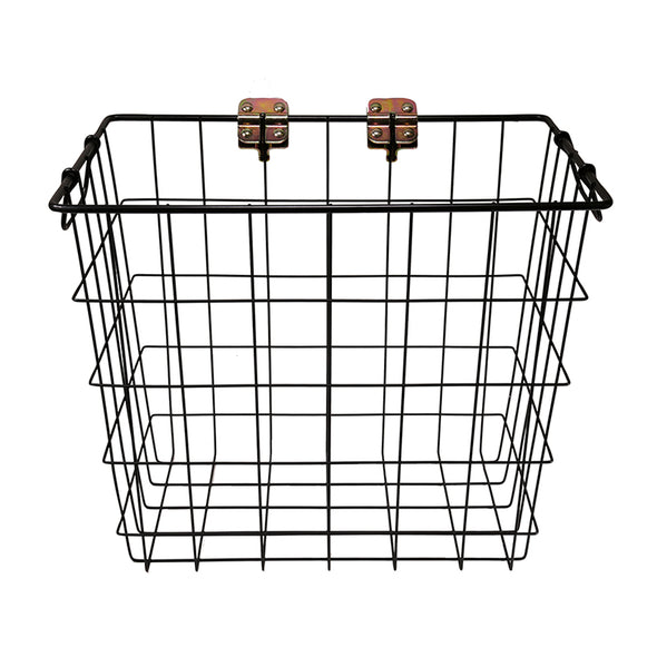 Large Wire Basket - Matte Black