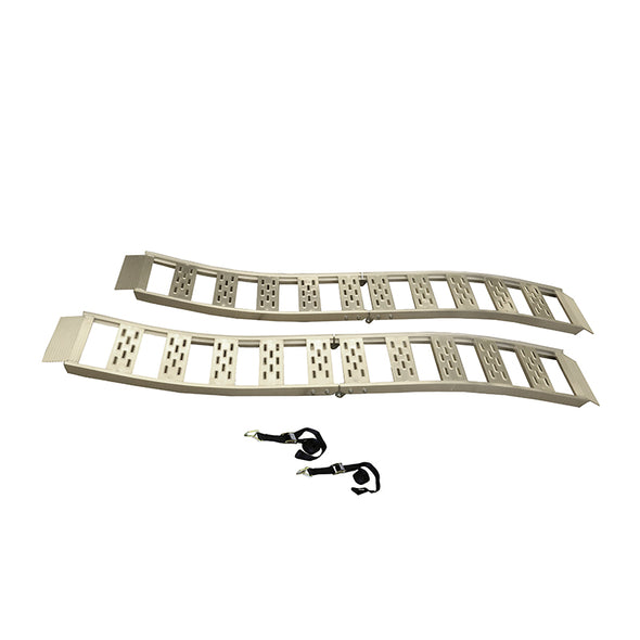 Folding S-Curve Ramp with Treads - 2 pack